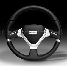 MOMO Steering Wheel Millenium EVO - Black Leather - 350mm - New