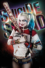 Suicide Squad film poster print-Harley Quinn A3 260gsm