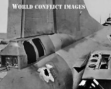 USAAF WW2 B-17 Bomber Damaged Tail 20mm Cannon 8x10 Photo 351st BG New Release!