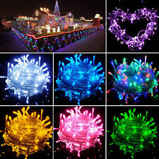 1.2M-100M Battery/Solar/Electric Fairy String Light Outdoor Christmas Party Lamp