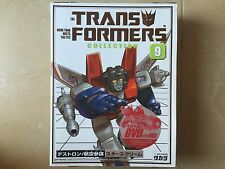 Transformers G1 (EMPTY) reissue BOX DVD + BUBBLE INSERT STARSCREAM  09 takara