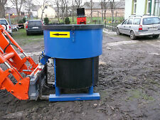 BRAND NEW PAN MIXER  ELECTRIC  DRIVE 3 phases  400 LITERS