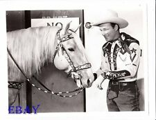 Roy Rogers and Trigger RARE Photo