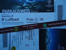 VIP TICKET Band & Parking UEFA CL 2016/17 Borussia Dortmund - Sporting CP (4)
