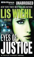 Triple Threat: Eyes of Justice 4 by Lis Wiehl (2013, CD, Unabridged)