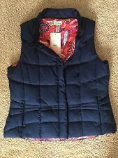 NWT Lilly Pulitzer Mave Puffer Vest - Colorful Paisley & Navy - Women's XL