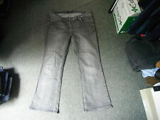 "Principles bootcut Jeans Size 18 Leg 31"" Black Faded Ladies Jeans"