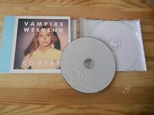 CD Pop Indie Vampire Weekend - Contra (10 Song) XL-RECORDS / Cardboard Sleeve