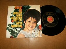 BRENDA LEE - CHRISTMAS WILL BE JUST ANOTHER - 45 PS / LISTEN - GIRL POPCORN
