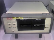 Bench TRMS Voltage Current Power Factor & Power Meter Analyzer Range 900W RS232