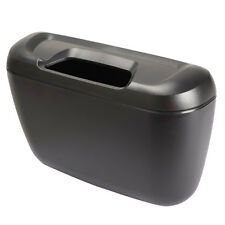 Multifunctional Car Trash Garbage Box Tissue Box Litter Container Black