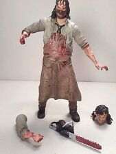 Neca LEATHERFACE The Beginning CULT CLASSICS Hall Of Fame 2006 7in. #1815
