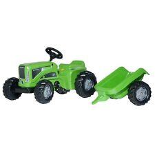 Rolly Toys Futura Trac mit Anhänger ohne Frontlader Traktor Trettraktor grün