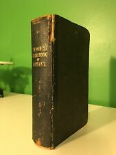 1854 A Class-Book Of Botany In Two Parts Alphonso Wood Plants Flora Biology