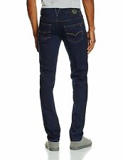 "Versace Jeans ""New collection"" men's slim fit dark deep indigo jeans size W31"