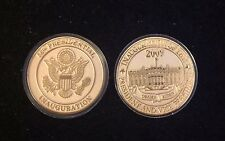 OBAMA 2009 INAUGURATION CHALLENGER COIN WHITE HOUSE EAGLE PRESIDENT SEAL Rare