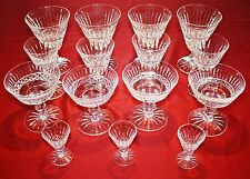 Waterford Crystal TRAMORE - 15 Piece Set - Goblets, Wine, Sherbet, Cordials