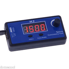HJ Digital Servo Tester/ESC Consistency Tester fpr RC Helicopter Airplane Car