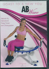 AB Wave Coast to a New You: International Fitness Trainer - Deborah Kz ** DVD **
