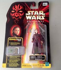Star Wars Episode I Queen Amidala Naboo Action Figure Commtalk Mosc