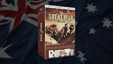 THE GREAT WAR 3 DVD & MEMORABILIA COLLECTION 1914-1918 A SUPERB LEGACY P+H INC