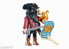 PLAYMOBIL 6433 CAPITAINE PIRATE AVEC SON SINGE NEUF