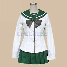 Highschool of the Dead Fujimi High School Girls' School Unifrom Cosplay Costume