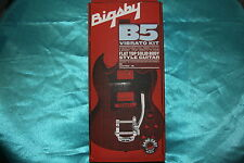 Bigsby B5 Vibrato Kit For Flat Top Solid Body Guitars, SG, Tele, MPN 0868013003