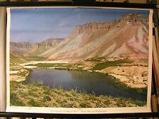 Schulwandbild Wandbild Hochsteppe See Kuh-i-Baba-Gebirge Afghanistan Asien 71x51
