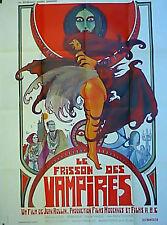 Affiche de cinéma originale Le frisson des vampires