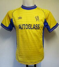 CHELSEA 2000/02 S/S AWAY SHIRT BY UMBRO MEDIUM BOYS BRAND NEW NO TAGS