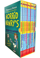Horrid Henrys Mischievous Mayhem Collection 10 Books Box  Set Children Books