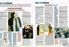 Coupure de Presse Clipping 2003 (2 pages) Andzej Zulawski
