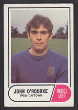A&BC - Footballers Football Facts (1-64) 1969 - # 34 John O'Rourke - Ipswich