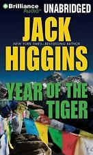 Year of the Tiger by Jack Higgins ( MP3 CD, Unabridged) FREE SHIPPING