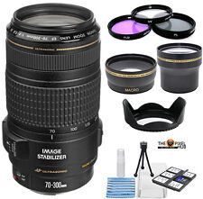 Canon EF 70-300mm f/4-5.6 IS USM Lens!! Pro Bundle
