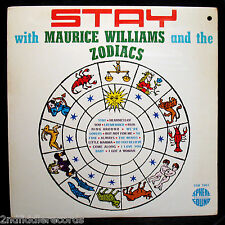 MAURICE WILLIAMS AND THE ZODIACS-STAY WITH Album-SPHERE #SSR 7007-Doo Wop & Soul