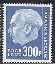 Saar 1957 Heuss Definitive set Sc# 289-308 NH