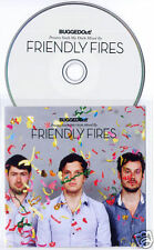 FRIENDLY FIRES Suck My Deck 2010 UK 19 track promo CD Bugged Out