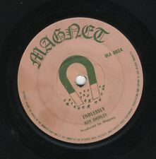 "Roy Shirley ‎– Endlessly / Put Your Sweet Lips ORIG UK 7"" MAGNET 1973"