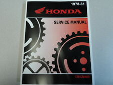 1978 1979 1980 1981 Honda CB 400T CM 400A 400E Service Repair Shop Manual NEW