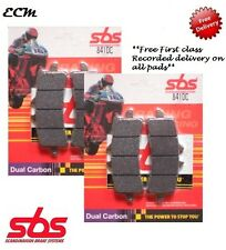 BREMBO Racing Calipers SBS SET FRONT BRAKE PADS Dual Carbon 841DC