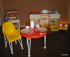 FURNITURE PLAYSET  BARBIE DOLL VINTAGE ARCO 1974  KITCHEN & ACCESSORY 1326