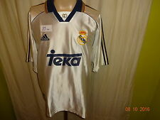 "Real Madrid Original Adidas Heim Trikot 1998-2000 ""Teka"" Gr.L- XL TOP"
