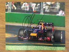 Daniel ricciardo main signé 10x8 formule 1 F1 red bull renault photo australie
