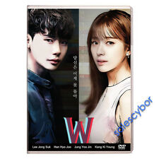 W- Two Worlds  Korean Drama (4DVDs) EXCELLENT_ENGLISH SUBS *BUY 5 GET 1 FREE*