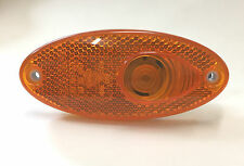 HELLA OVAL AMBER SIDE MARKER LIGHT - CARAVANS MOTOR HOME
