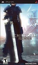 Crisis Core Final Fantasy VII 7 UMD PSP GAME SONY PLAYSTATION PORTABLE