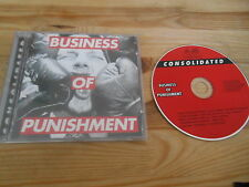 CD Punk Consolidated - Business Of Punishment (15 Song) LONDON REC Hip Hop
