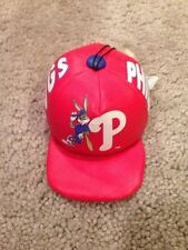 "Philadelphia Phillies Bugs Bunny 4"" Plush Hat. Good Condition. Polyester Fiber."
